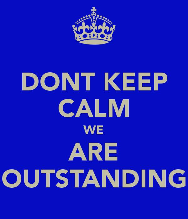 it u0026 39 s official we u0026 39 re outstanding